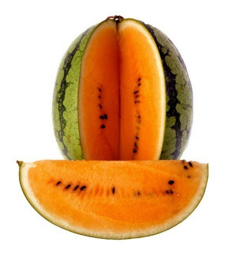 Sementes Melancia Laranja Gigante Tendersweet Watermelon