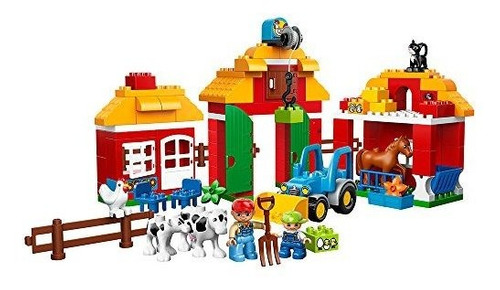 Duplo Lego Town Big Farm Toddler Toy Grandes Ladrillos