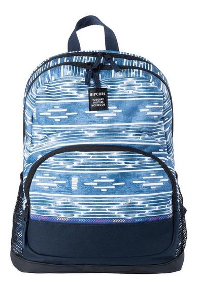 Mochila Rip Curl Primary 18 Litros Azul Blanco 5436