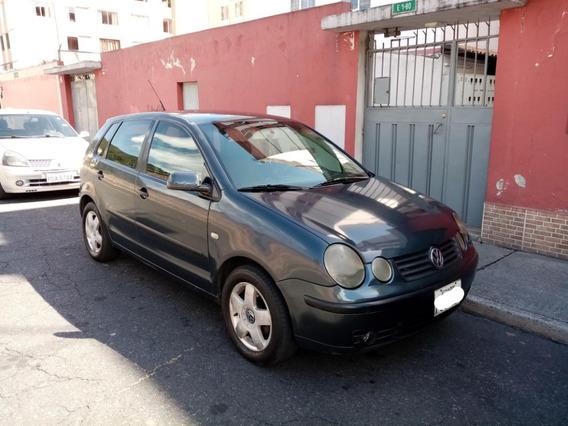 Volkswagen Polo 2005 Brasileño 5 Puertas Hutchback Gris