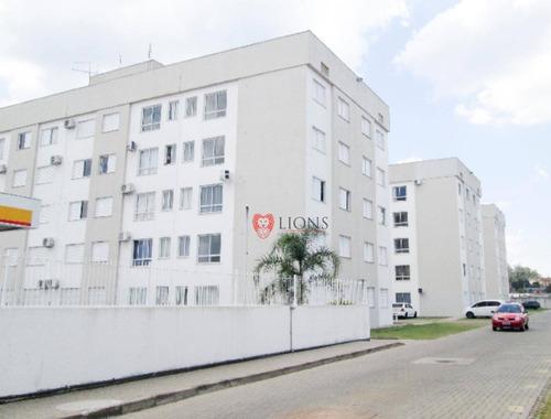 Apartamento Com 2 Dormitórios À Venda, 54 M² Por R$ 169.200,00 - São Vicente - Gravataí/rs - Ap0738
