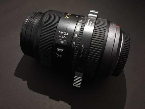 Lente Lumix G Vario 45-200mm