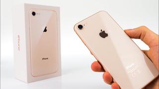 iPhone 8 64gb Gold 4g - Desbloqueado Livre / Garantia Apple