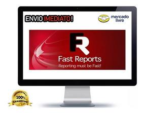 Fast Report 6.2.1 Para Delphi 10.3 Rio - Só Hoje