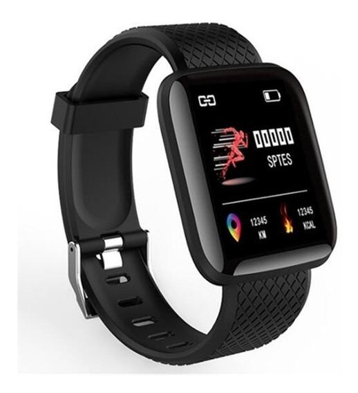 Smartwatch Reloj 116plus Reloj Inteligente Redes Sociales