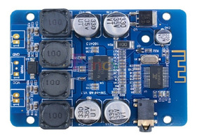 Placa Amplificador 2.0 30 + 30 60w Bluetooth 4.0 Integrado