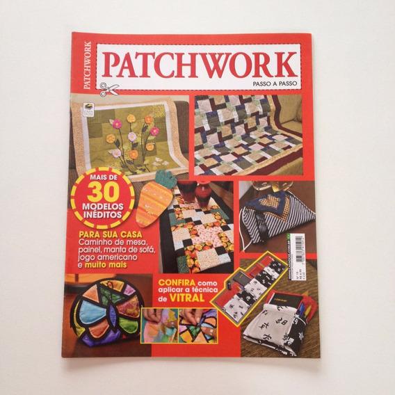 Revista Patchwork Caminho De Mesa Painel Manta De Sofá Cc476