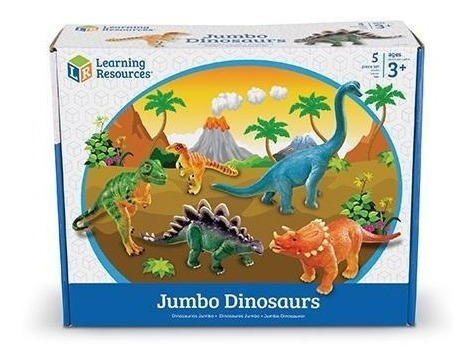 Learning Resources Dinosaurios Jumbo