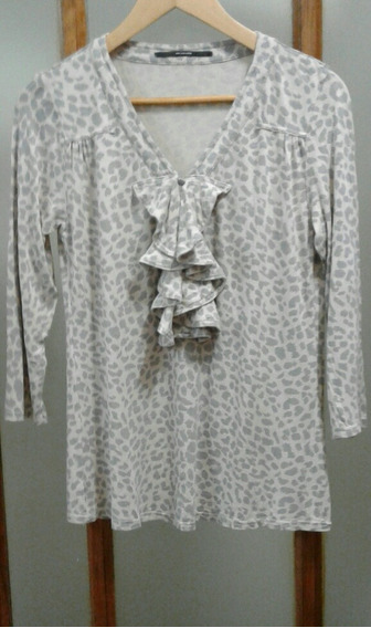 Remera Modal Akiabara Animal Print Impecable