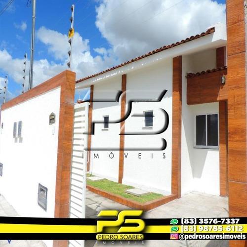 Casa Com 2 Dormitórios À Venda Por R$ 125.000,00 - Bairro Das Indústrias - João Pessoa/pb - Ca0519
