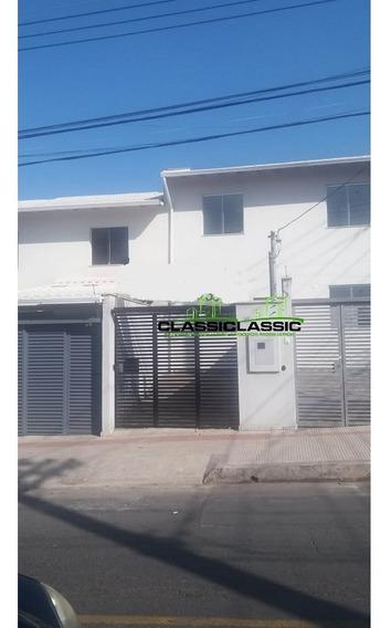 Casa Geminada Com 2 Quartos Para Comprar No Planalto Em Belo Horizonte/mg - 3107