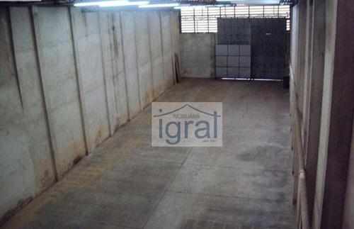 Galpão À Venda, 500 M² Por R$ 2.900.000,00 - Vila Guarani (zona Sul) - São Paulo/sp - Ga0001