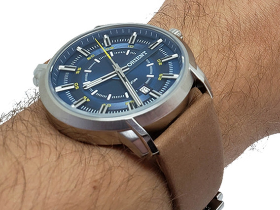 Relógio Masculino Orient Mbsc1028 Original Prova D