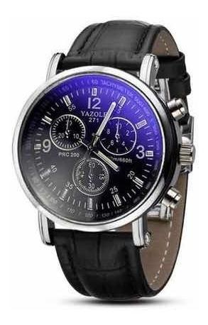 Relógio Yazole Masculino Preto