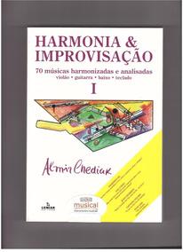 Harmonia E Improvisação V1 Chediak Livro Metodo Partitura