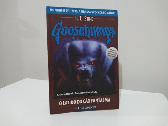 Livro Goosebumps Cuidado Com A Mordida Do Cão Fantasma