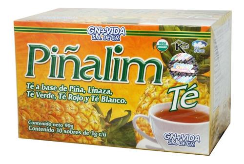 Imagen 1 de 5 de Té Pinalim (30 Sobres) Gn+vida