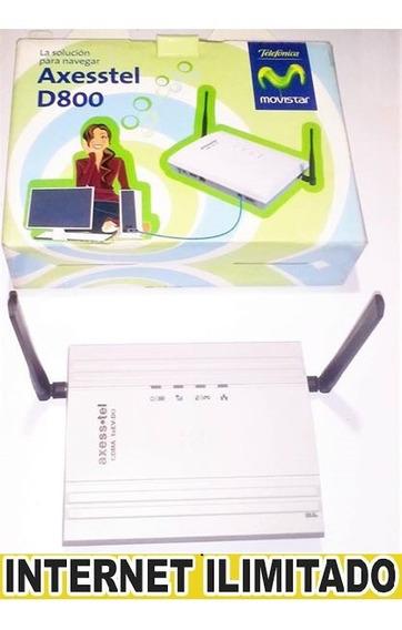 Internet Ilimitado Para Modem Axesstel Con Actualizacion