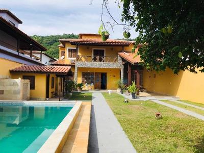 Casa Com 3 Dormitórios Para Alugar, 300 M² - Itaipu - Niterói/rj - Ca0095