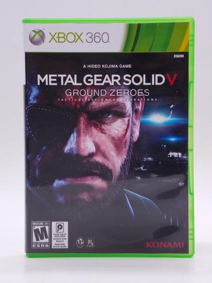 Metal Gear V Ground Zeroes Xbox 360 Original Mídia Física