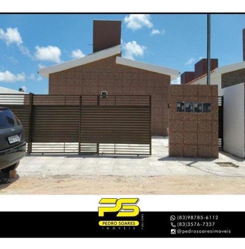 Casa Com 2 Dormitórios À Venda, 41 M² Por R$ 117.000,00 - Funcionários Ii - João Pessoa/pb - Ca0856