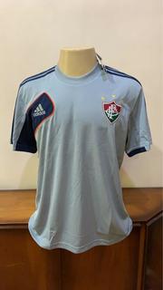 Camisa Fluminense Viagem Cinza adidas 2010 Tamanho G