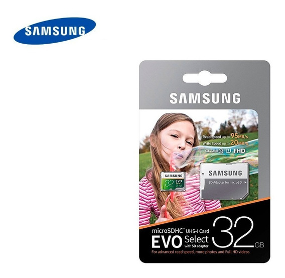 Micro Sd 32gb Samsung Class10 Para New Nintendo 3ds 2ds Xl