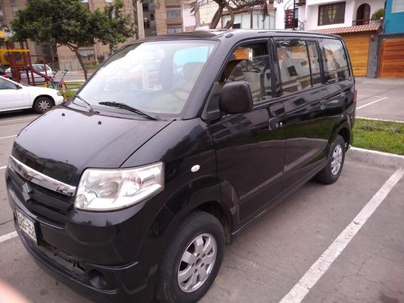 Suzuki Apv Año 2013 80,000 Kms, Dual Glp, Mecanico, Con Gps