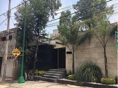 Casa En Obra Gris Con Espectacular Vista, Jardines Del Pedregal