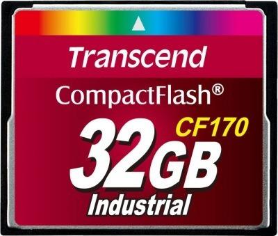 4 Peças Cartão De Memória Compact Flash Cf Transcend 32gb