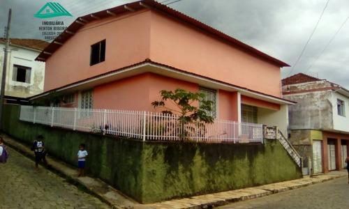 Casa A Venda No Bairro Centro Em Carmo De Minas - Mg.  - 293-1