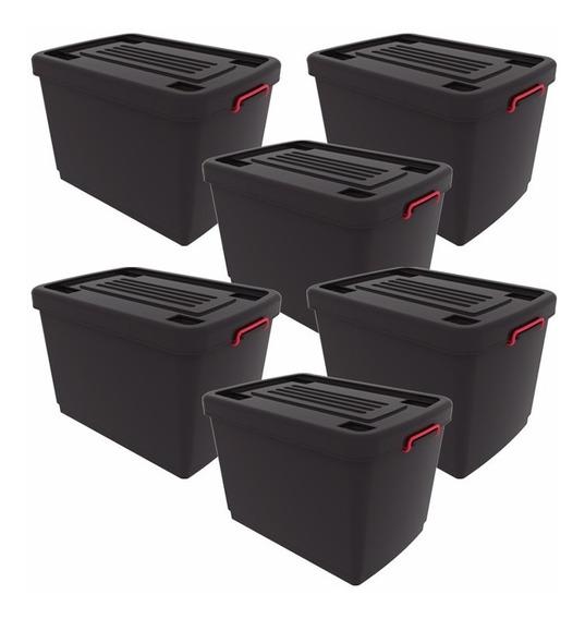 Cajas Organizadoras Heavy Box 95 Lts 5 + 1 De Regalo