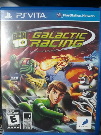 Ben 10 Galactc Racing Jogo Para Playstation Vita ( Ps Vita )