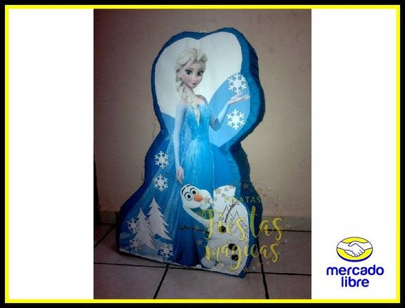 Centro De Mesa Elsa Frozen Ana Y Olaf Piñata Infantil