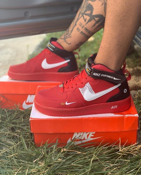 Tênis Nike Air Force Lançamento Cano Alto