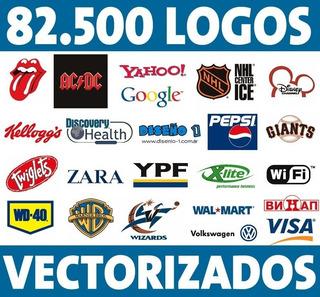 82.500 Logos Vectorizados