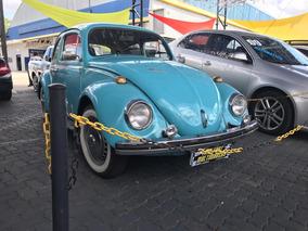 Volkswagen Fusca Azul