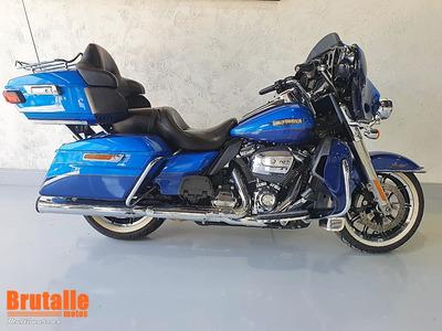 Hd Ultra Electra Glide Classic Limited Azul