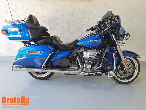Hd Ultra Electra Glide Classic Limited Azul