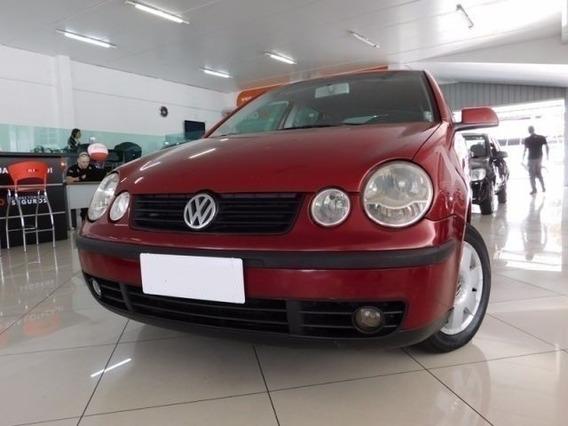 Volkswagen Polo Hatch 1.6 Vermelho Gasolina 4p Manual 2003