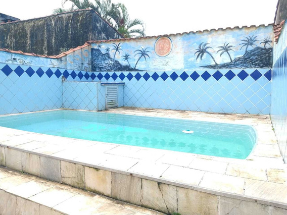 Casa Em Mongaguá Com Piscina R$ 190 Mil 7336 C