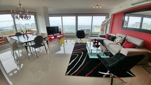 Apartamento En Venta Playa Brava 4 Dormitorios- Ref: 3503