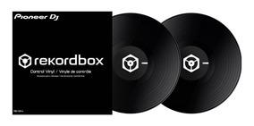 Pioneer Time Code Vinyl Rekordbox Dj Black (par) Serato Trak