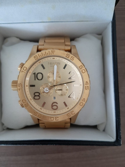 Relógio Nixon 51-30 Chrono All Gold