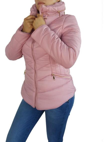 Chamarra Chaqueta Abrigo Mujer Invierno Moda Casual 0003