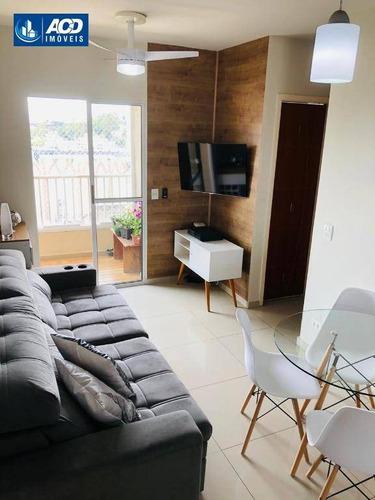 Apartamento Com 2 Dormitórios À Venda, 47 M² Por R$ 229.000,00 - Jardim São Luís (zona Sul) - São Paulo/sp - Ap0160