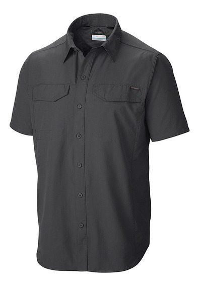 Camisa Columbia Silver Ridge Manga Corta Filtro Uv Hombre