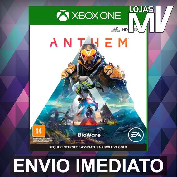 Anthem Xbox One Codigo De 25 Digitos