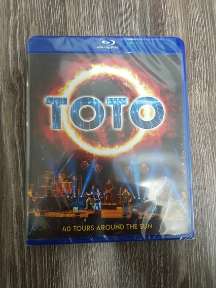 Toto - 40 Tours Around The Sun - Blu Ray Lacrado