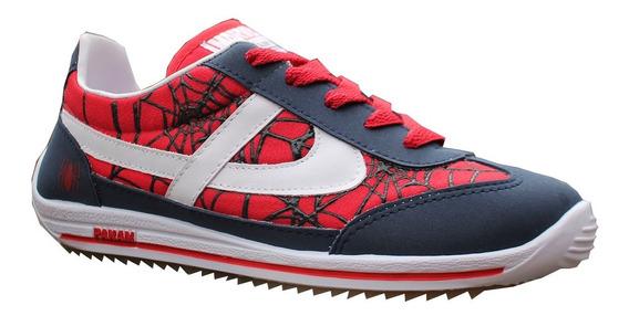 Tenis Panam Marvel - Hombre Araña - Spider Man